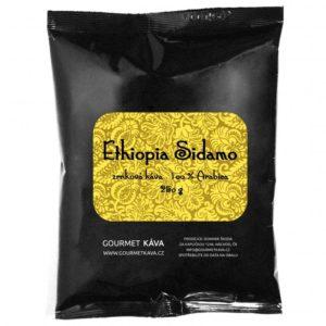 Etiópia: Sidamo, zrnková káva arabica