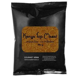 Keňa: Top Masai, zrnková káva arabica, STREDNE PRAŽENÁ