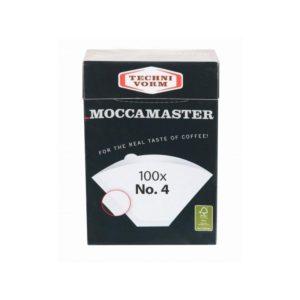 Papierové filtre Moccamaster veľ. 4 100ks